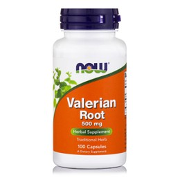 Now Foods Valerian Root 500mg 100Veg Capsules