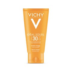 Vichy Ideal Soleil Mattifying Face Fluid Dry Touch SPF30 Αντηλιακή Κρέμα Προσώπου 50ml