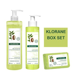 Klorane box set eau de yuzu 400ml