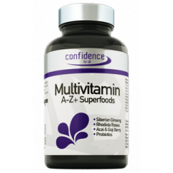 Alfa Choice Naturals Confidence Multivitamin A-Z + Superfoods 30+15 caps
