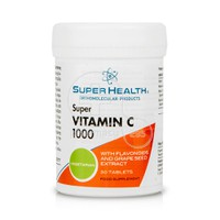 SUPER HEALTH - Super Vitamin C 1000 - 30tabs