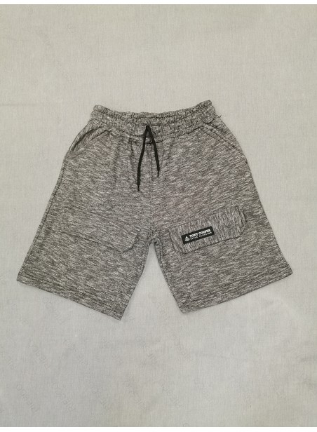 TONY COUPER GREY MARL CARGO SHORTS