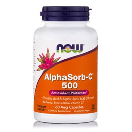 Now Foods AlphaSorb-C 500mg 90 Veget.caps