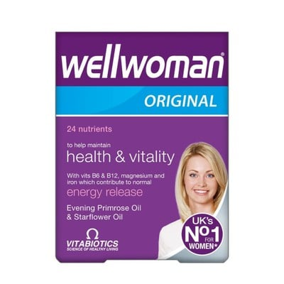 Vitabiotics (stop)- Wellwoman Original - 30caps