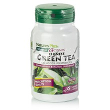 Natures Plus Green Tea (Chinese) 400mg - Αντιοξειδωτικό/Αδυνάτισμα, 60vcaps