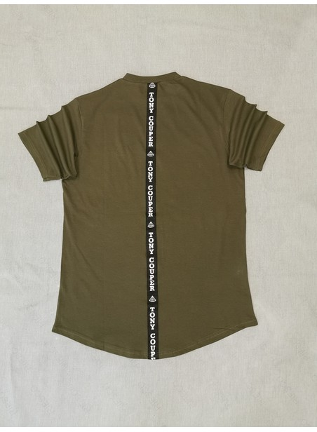TONY COUPER KHAKI GROSS T-SHIRT