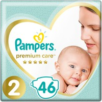 Pampers Premium Care No2 (4-8kg) 46 Πάνες