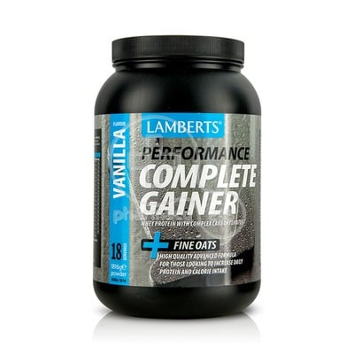 LAMBERTS - PERFORMANCE Complete Gainer + Fine Oats (Vanilla Flavour) - 1816gr