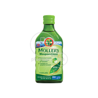 MOLLER'S - Μουρουνέλαιο (Cod Liver Oil) Apple Flavour - 250ml