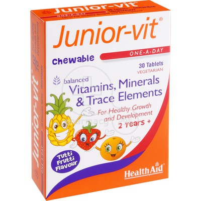 HEALTH AID - Junior-Vit - 30chew.tabs