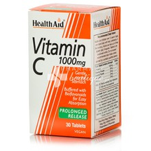 Health Aid Vitamin C 1000mg, 30 p.r. tabs