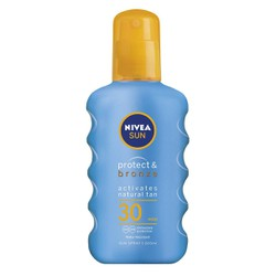 NIVEA SUN SPRAY PROTECT & BRONZE SPF30 200 ml