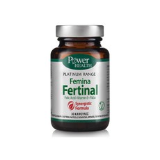 Power Health Platinum Range Femina Fertinal Συμπλήρωμα Διατροφής 30Caps.