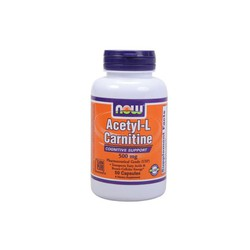 Now Acetyl L-Carnitine 500mg 50veg.caps