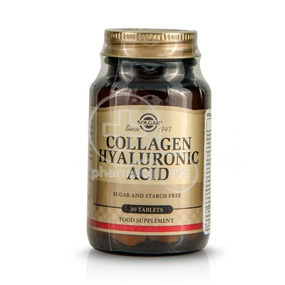 SOLGAR - Collagen Hyaluronic Acid - 30tabs