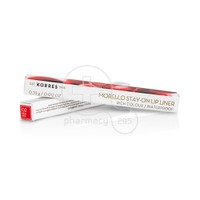 KORRES - MORELLO Stay-on Lip Liner No02 Real Red - 0,35gr