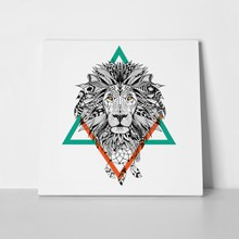 Lion triangle lineart 307080050 a