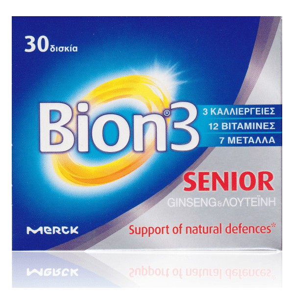 BION 3 PLUS 50+ 30TABS