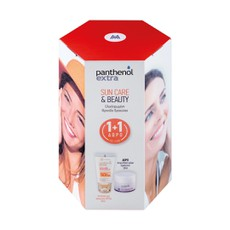 Medisei Panthenol Extra Sun Care & Beauty (Sun Care Diaphanous SPF50 50ml + Δώρο Face & Eye Cream 50ml).