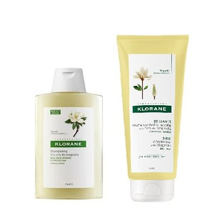 Klorane shampoo magnolia 200ml   conditioner