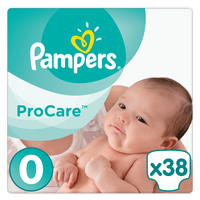 PAMPERS PROCARE PREMIUM PROTECTION ΜΕΓ 0 1-2.5KG  38TEM