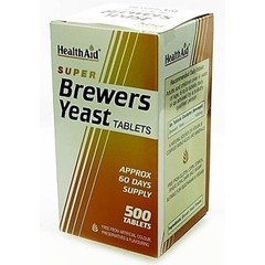 Health Aid Brewers Yeast 300mg 500 ταμπλέτες