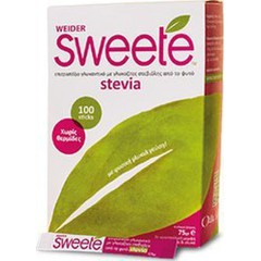 Weider Lilly Sweete Stevia 100 sticks