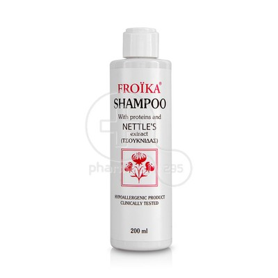 FROIKA - Shampoo Proteins & Nettle 's -200ml [Τσουκνίδαs]