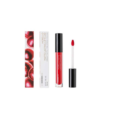 KORRES MOREL.LIP.FL.RED VELVET.    NO53  -  3.4ML