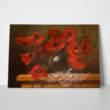 Poppy bouquet oil painting 145626889 a