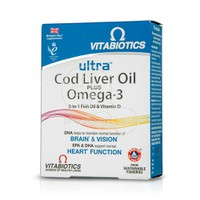 VITABIOTICS - Ultra Cod Liver Oil plus Omega-3 - 60 caps