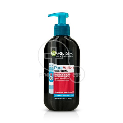 GARNIER - PURE ACTIVE Charcoal Cleansing Gel - 200ml