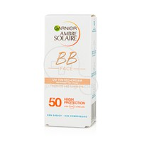 GARNIER - AMBRE SOLAIRE BB Face UV Tinted Cream SPF50 - 50ml