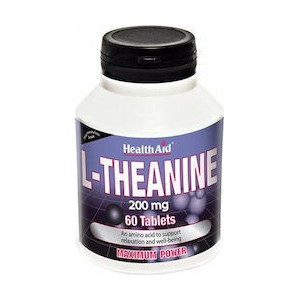 Health aid l theanine 200mg 60 tabs