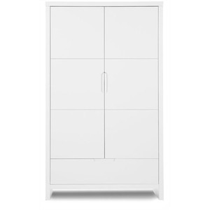 5b574f92423 Ντουλάπα 2Φυλλη Quadro White