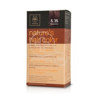 APIVITA - NATURE'S HAIR COLOR N5.35 Καπουτσίνο