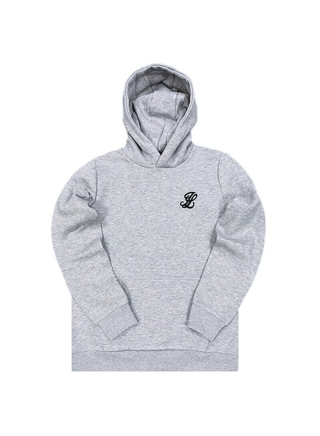 Illusive London Overhead Hoodie - Grey Marl