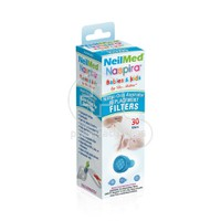 NEILMED - NASPIRA Babies & Kids Nasal-Oral Aspirator Replacement Filters - 30τεμ.