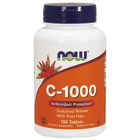 NOW C-1000 (ROSE HIPS SUSTAINED RELEASE) 100ΤABL