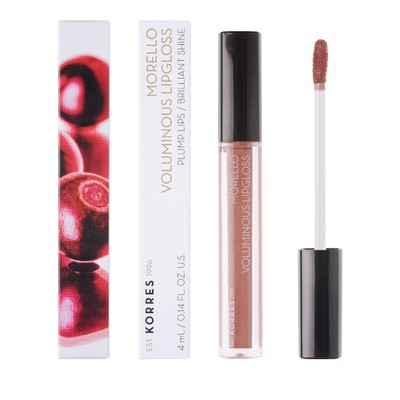 Korres - Morello Voluminous Lipgloss - 4ml (σε 10 Χρώματα)