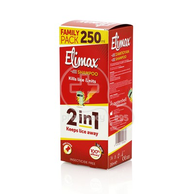 GEROLYMATOS - ELIMAX Shampoo Family Pack - 250ml