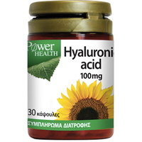 POWER HEALTH HYALURONIC ACID 100MG 30CAPS