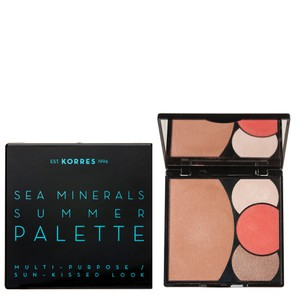 Sea minerals summer palette coral sunsets