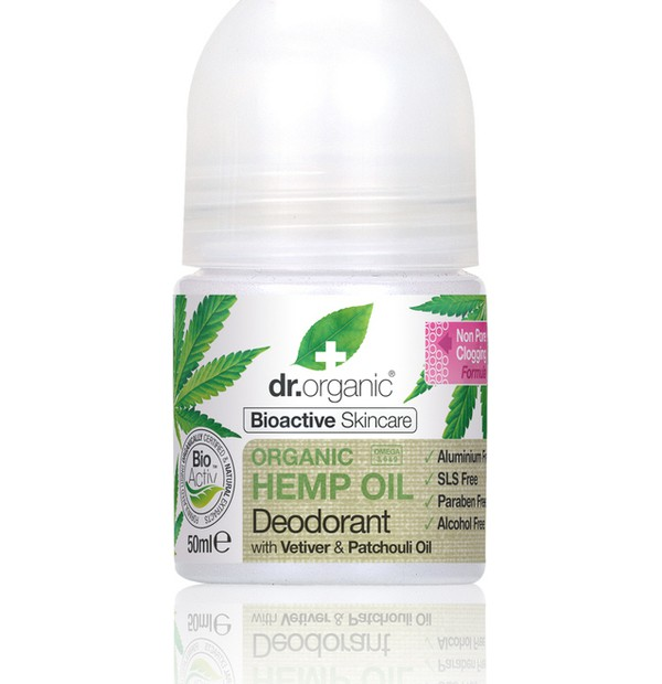 DR. ORGANIC HEMP OIL DEODORANT 50ML