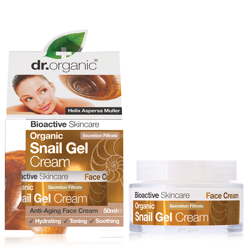 Organic Snail Gel Face Cream