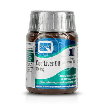 QUEST - Cod Liver Oil 1000mg - 30caps