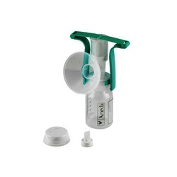 Ameda Χειροκίνητη Αντλία Ενός Χεριού-One-Hand Manual Breast Pump with Flexishield™ Aerola Stimulator