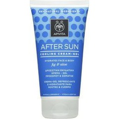 Apivita After Sun Cooling Cream Gel Fig & Aloe 150ml