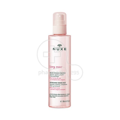 NUXE - VERY ROSE Brume Tonique Fraiche - 200ml