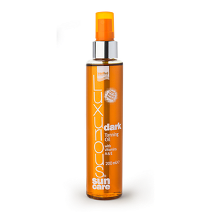 LUXURIOUS Sun care dark tanning oil 200ml